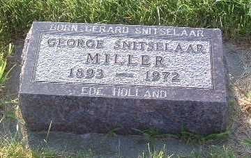 MILLER, GEORGE - Lyon County, Iowa | GEORGE MILLER
