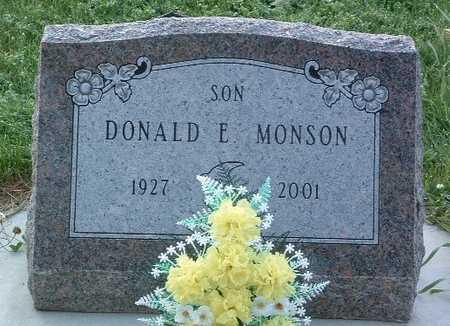 MONSON, DONALD E. - Lyon County, Iowa | DONALD E. MONSON