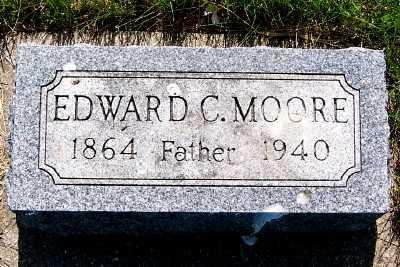 MOORE, EDWARD C. - Lyon County, Iowa   EDWARD C. MOORE