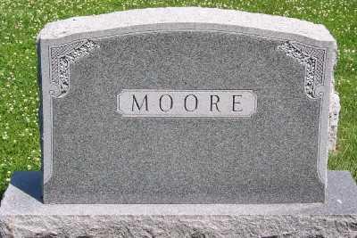 MOORE, FAMILY HEADSTONE - Lyon County, Iowa | FAMILY HEADSTONE MOORE