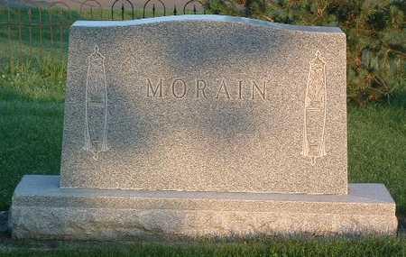 MORAIN, HEADSTONE - Lyon County, Iowa | HEADSTONE MORAIN