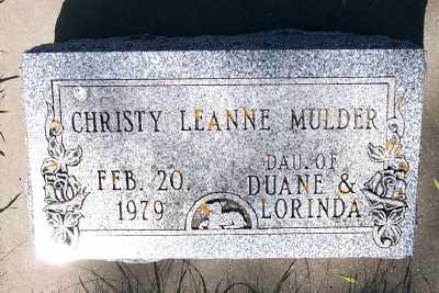 MULDER, CHRISTY LEANNE - Lyon County, Iowa | CHRISTY LEANNE MULDER