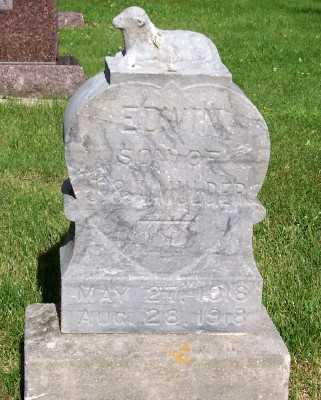 MULDER, EDWIN (SON OF J.&K.) - Lyon County, Iowa   EDWIN (SON OF J.&K.) MULDER