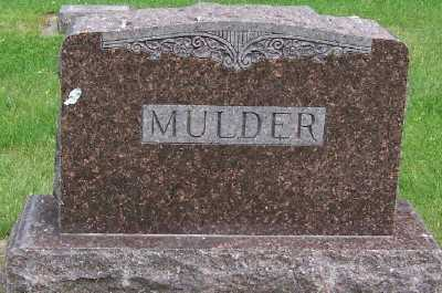 MULDER, FAMILY HEADSTONE - Lyon County, Iowa   FAMILY HEADSTONE MULDER