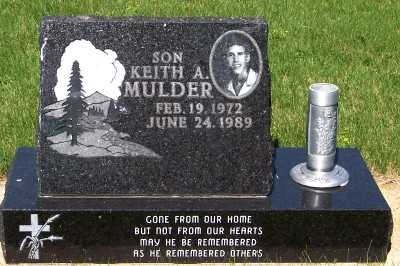 MULDER, KEITH A. - Lyon County, Iowa | KEITH A. MULDER