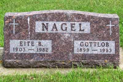NAGEL, EITE B. - Lyon County, Iowa | EITE B. NAGEL
