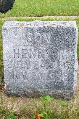 NAGEL, HENRY R. - Lyon County, Iowa | HENRY R. NAGEL