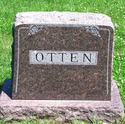 OTTEN, FAMILY HEADSTONE - Lyon County, Iowa | FAMILY HEADSTONE OTTEN