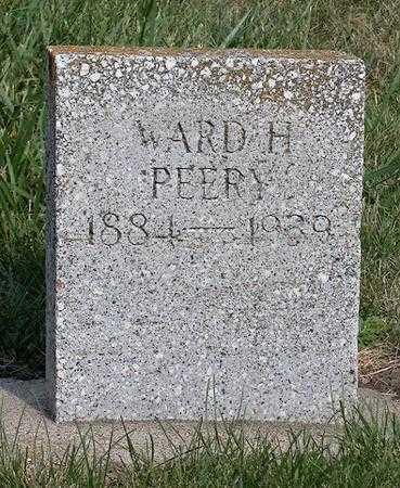 PEERY, WARD H - Lyon County, Iowa   WARD H PEERY