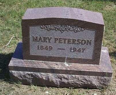 PETERSON, MARY - Lyon County, Iowa | MARY PETERSON