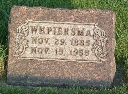 PIERSMA, WM. - Lyon County, Iowa | WM. PIERSMA