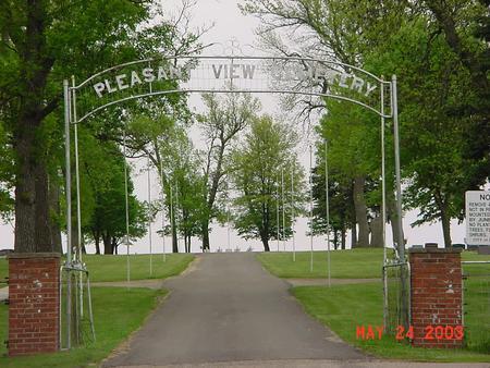 PLEASANT VIEW, CEMETERY - Lyon County, Iowa | CEMETERY PLEASANT VIEW