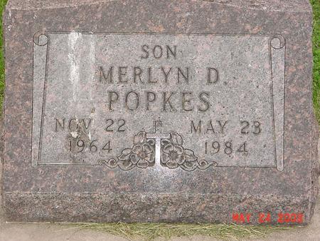 POPKES, MERLYN DEAN - Lyon County, Iowa | MERLYN DEAN POPKES