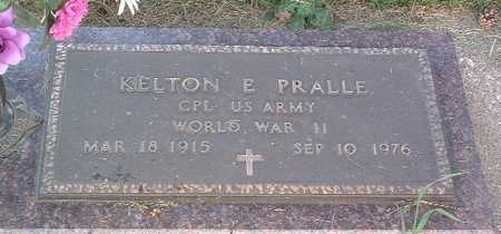 PRALLE, KELTON E. - Lyon County, Iowa   KELTON E. PRALLE