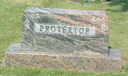 PROTEXTOR, HEADSTONE - Lyon County, Iowa   HEADSTONE PROTEXTOR