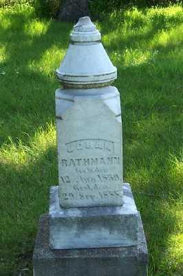 RATHMANN, JOHAN - Lyon County, Iowa | JOHAN RATHMANN