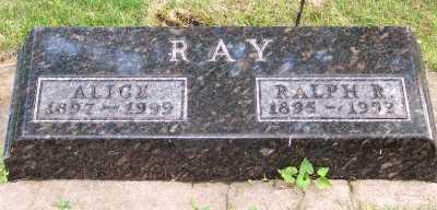 RAY, RALPH R. - Lyon County, Iowa   RALPH R. RAY