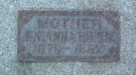 ROHDE, JOHANNA - Lyon County, Iowa | JOHANNA ROHDE