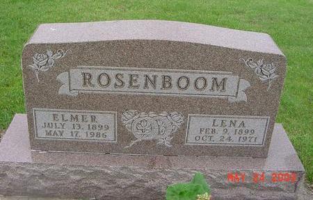 ROSENBOOM, ELMER - Lyon County, Iowa | ELMER ROSENBOOM