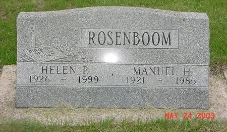 ROSENBOOM, MANUEL - Lyon County, Iowa | MANUEL ROSENBOOM