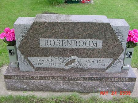 BLOCK ROSENBOOM, CLARICE - Lyon County, Iowa | CLARICE BLOCK ROSENBOOM