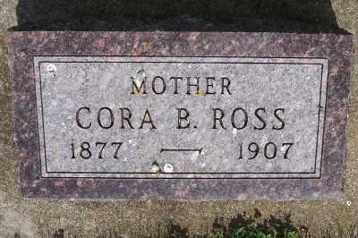 ROSS, CORA B. - Lyon County, Iowa   CORA B. ROSS