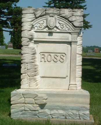 ROSS, HEADSTONE - Lyon County, Iowa   HEADSTONE ROSS