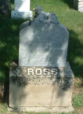 ROSS, LOUISE - Lyon County, Iowa   LOUISE ROSS