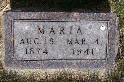 ROSS, MARIA - Lyon County, Iowa | MARIA ROSS