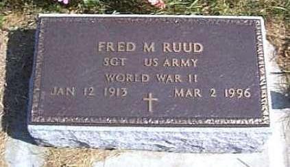 RUUD, FRED M. - Lyon County, Iowa | FRED M. RUUD
