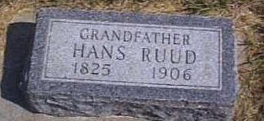 RUUD, HANS - Lyon County, Iowa | HANS RUUD