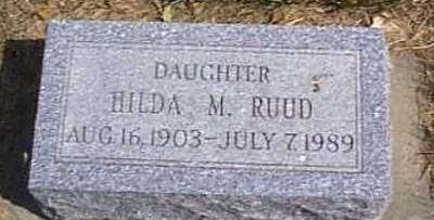 RUUD, HILDA M. - Lyon County, Iowa | HILDA M. RUUD