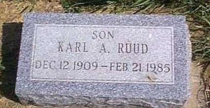 RUUD, KARL A. - Lyon County, Iowa | KARL A. RUUD
