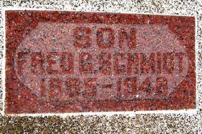 SCHMIDT, FRED G. - Lyon County, Iowa | FRED G. SCHMIDT
