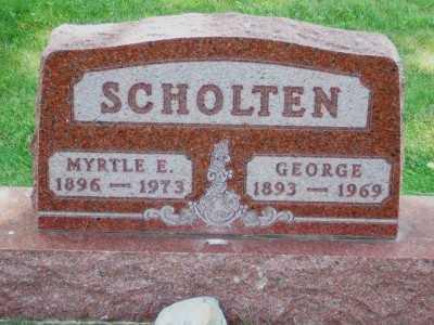 SCHOLTEN, GEORGE - Lyon County, Iowa | GEORGE SCHOLTEN