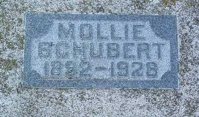 SCHUBERT, MOLLIE - Lyon County, Iowa   MOLLIE SCHUBERT