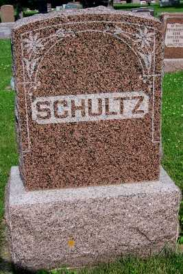 SCHULTZ, FAMILY HEADSTONE - Lyon County, Iowa | FAMILY HEADSTONE SCHULTZ