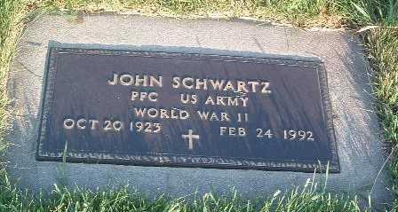 SCHWARTZ, JOHN - Lyon County, Iowa | JOHN SCHWARTZ