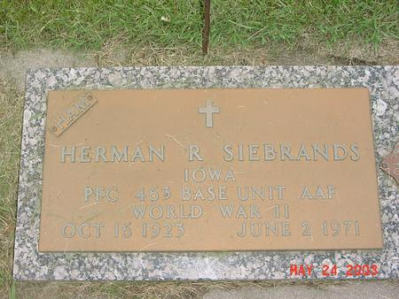 SIEBRANDS, HERMAN - Lyon County, Iowa | HERMAN SIEBRANDS