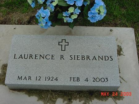 SIEBRANDS, LAURENCE (LORNE) - Lyon County, Iowa | LAURENCE (LORNE) SIEBRANDS