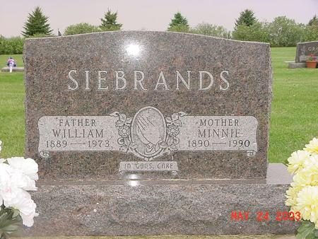 SIEBRANDS, WILLIAM (WILLIE) - Lyon County, Iowa | WILLIAM (WILLIE) SIEBRANDS