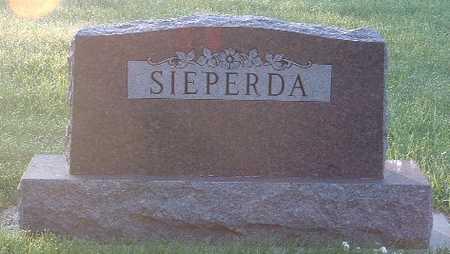 SIEPERDA, FAMILY HEADSTONE - Lyon County, Iowa | FAMILY HEADSTONE SIEPERDA