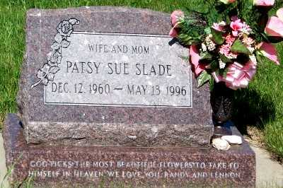 SLADE, PATSY SUE - Lyon County, Iowa | PATSY SUE SLADE