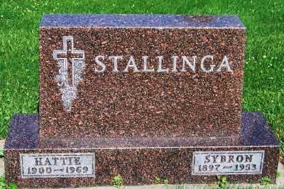 STALLINGA, SYBRON - Lyon County, Iowa | SYBRON STALLINGA