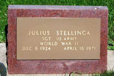 STELLINGA, JULIUS - Lyon County, Iowa   JULIUS STELLINGA