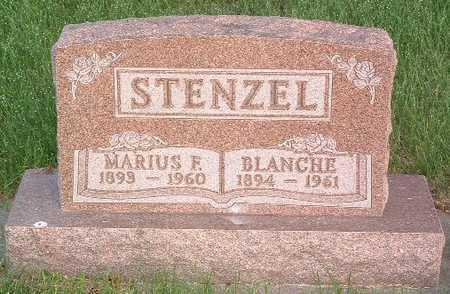 STENZEL, MARUIS F. - Lyon County, Iowa | MARUIS F. STENZEL