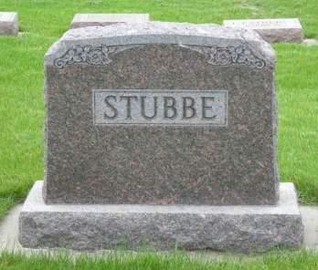 STUBBE, JOHN B STUBBE FAMILY HEADSTONE - Lyon County, Iowa | JOHN B STUBBE FAMILY HEADSTONE STUBBE