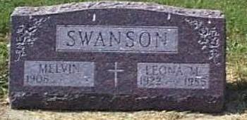 POWERS SWANSON, LEONA MARY - Lyon County, Iowa | LEONA MARY POWERS SWANSON