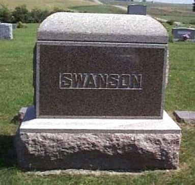 SWANSON, FAMILY HEADSTONE - Lyon County, Iowa | FAMILY HEADSTONE SWANSON