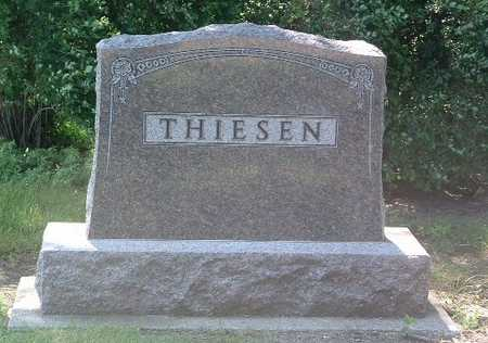 THIESEN, HEADSTONE - Lyon County, Iowa | HEADSTONE THIESEN